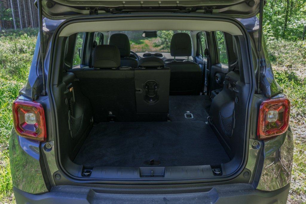 Jeep Renegade bagagerum