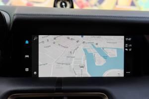 Porsche Taycan navigation