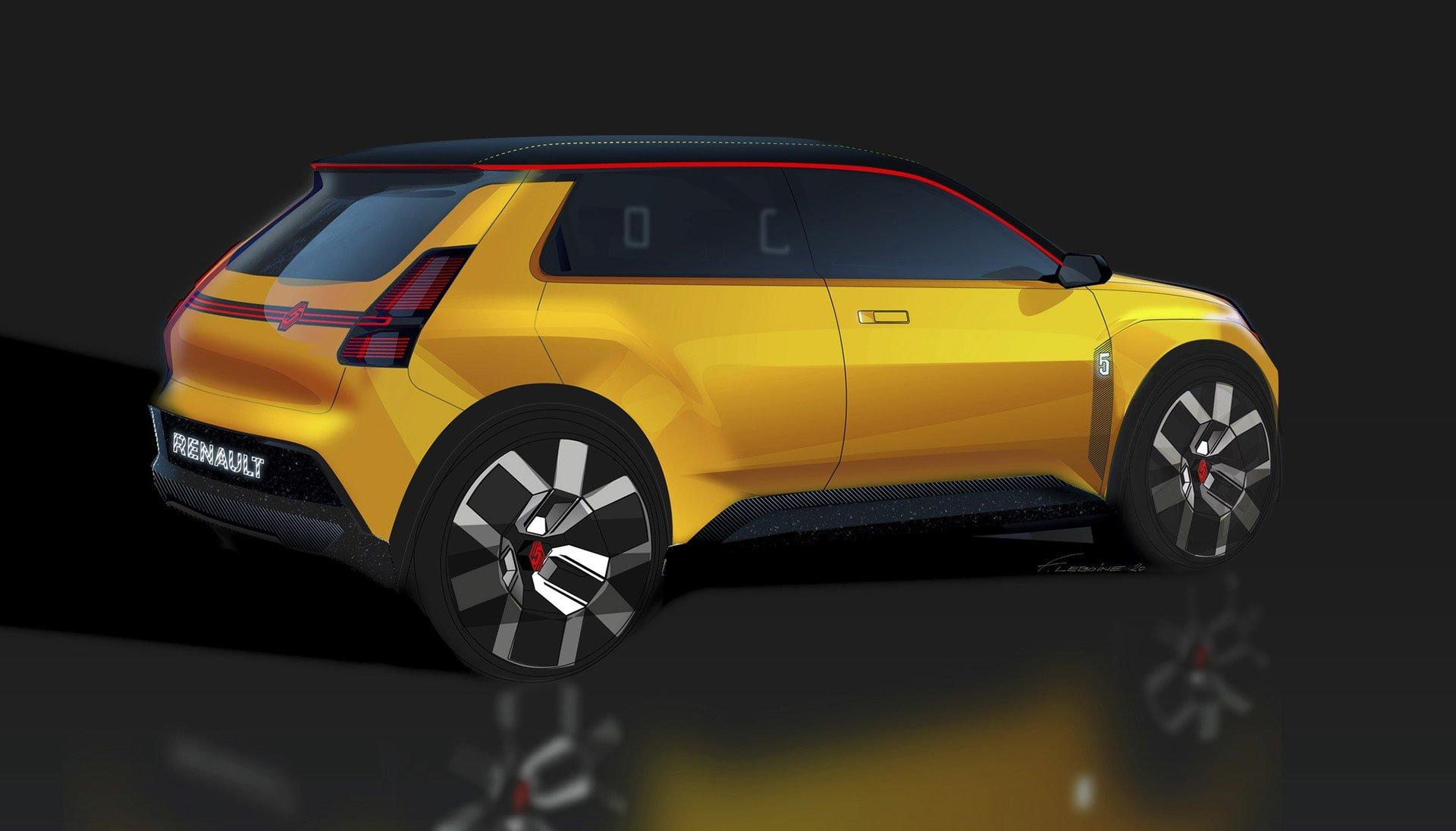 Renault 5 konceptbil