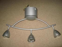schöne IKEA Lampe &39;Korelin&39;, 3 Strahler / Deckenschiene ...