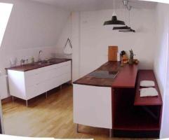 IKEA Küche Weiß hochglanz mit Schreinerbank in München ...