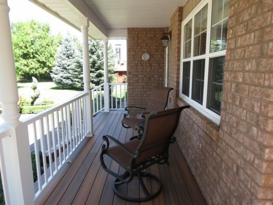Relax on a custom Bildam Porch
