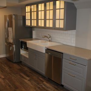 Bildam - Custom Basement Kitchen