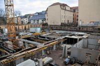 Baustelle Kamenzer Straße.
