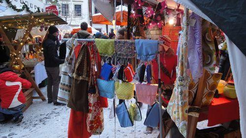 Buntes Angebot auf dem Nikolausmarkt
