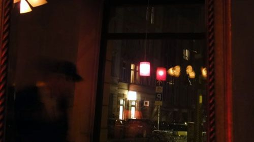 Nachts im Laika