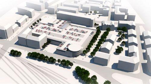 So sieht der Entwurf der Dresdner Projektentwicklungs GmbH aus.