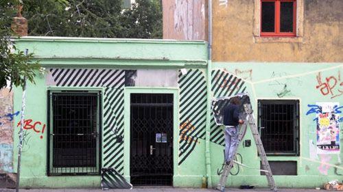 Streif-Arbeiten auf der Alaunstraße