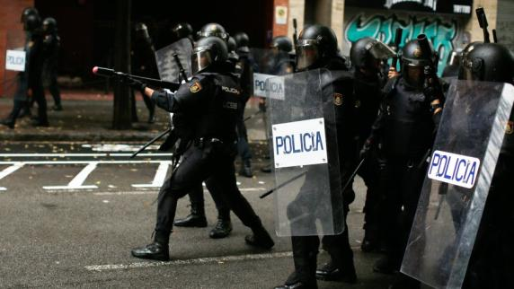 Znalezione obrazy dla zapytania das referendum in katalonien - fotos
