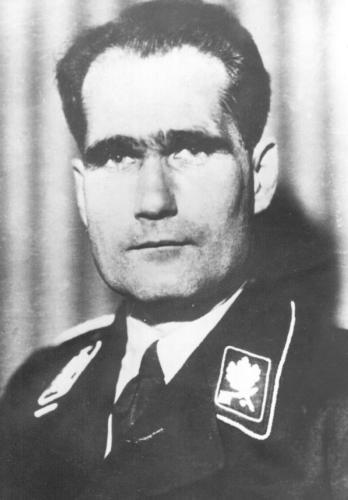 Archivbild des ehemaligen Hitler-Stellvertreters Rudolf Heß.
