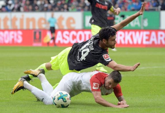 FC Augsburg 1 - Double Pack Finnbogason: FCA Lead 2-0 Against Cologne