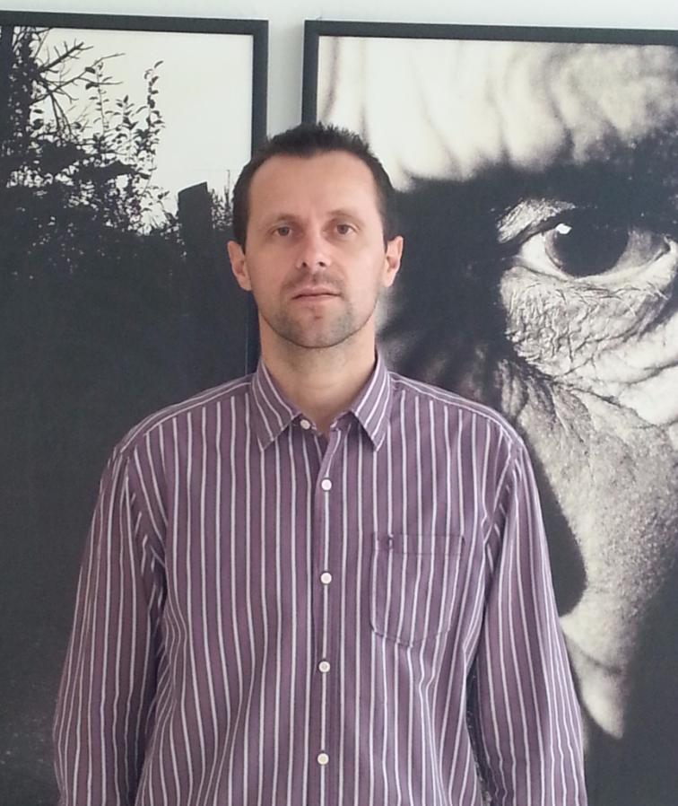 Avdic Nedzad heute. Er konnte dem Morden in Syrien nicht länger tatenlos zusehen
