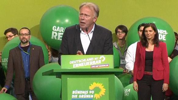 Parteitag in Berlin: Die Grünen verabschieden Wahlprogramm