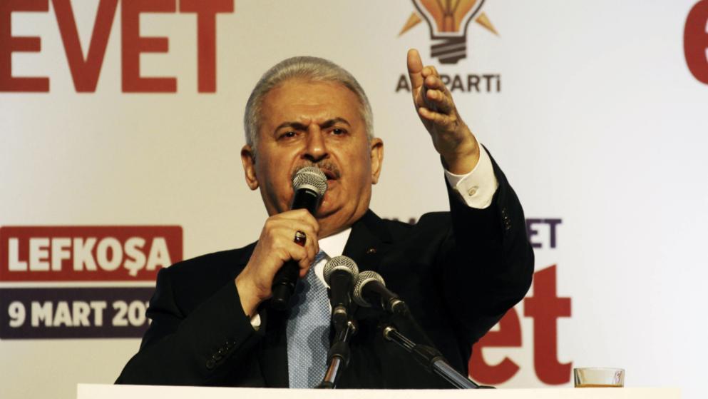 Türkeis Ministerpräsident Binali Yildirim