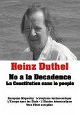 Heinz Duthel: No a la Decadence (eBook, ePUB)