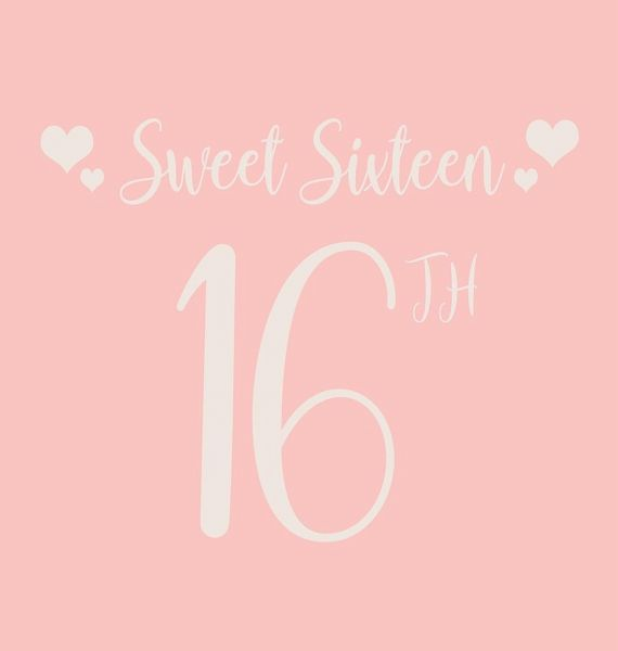 Happy 16th Birthday Guest Book Hardcover Sweet Sixteen Guest Book Party And Von Lulu And Bell Englisches Buch Bucher De