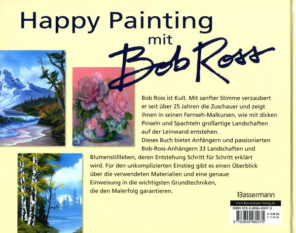 Bob Ross The Joy Of Painting Golden Glow Of Morning