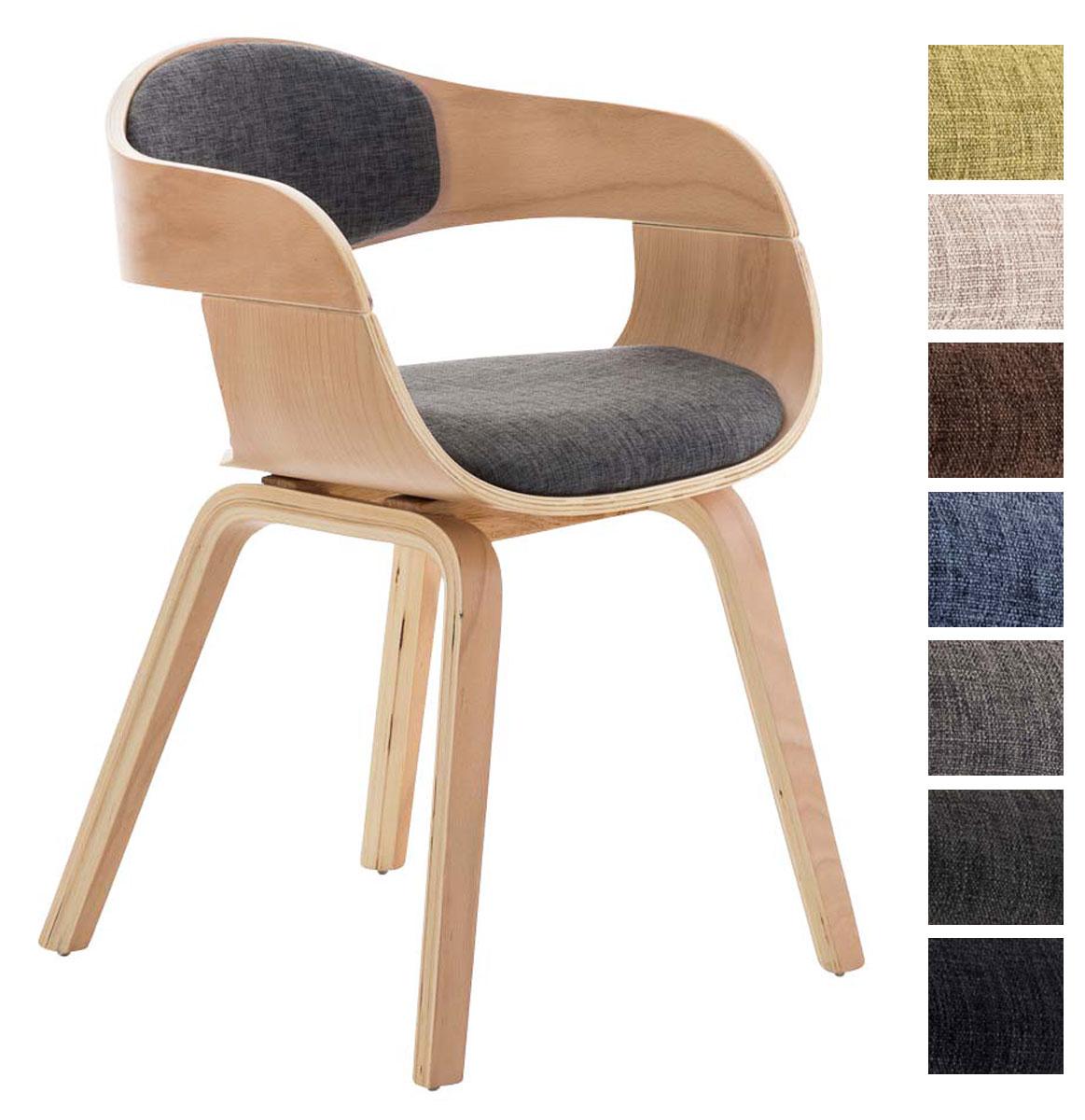 details sur chaise de salle a manger kingston tissu bois nature fauteuil design scandinave