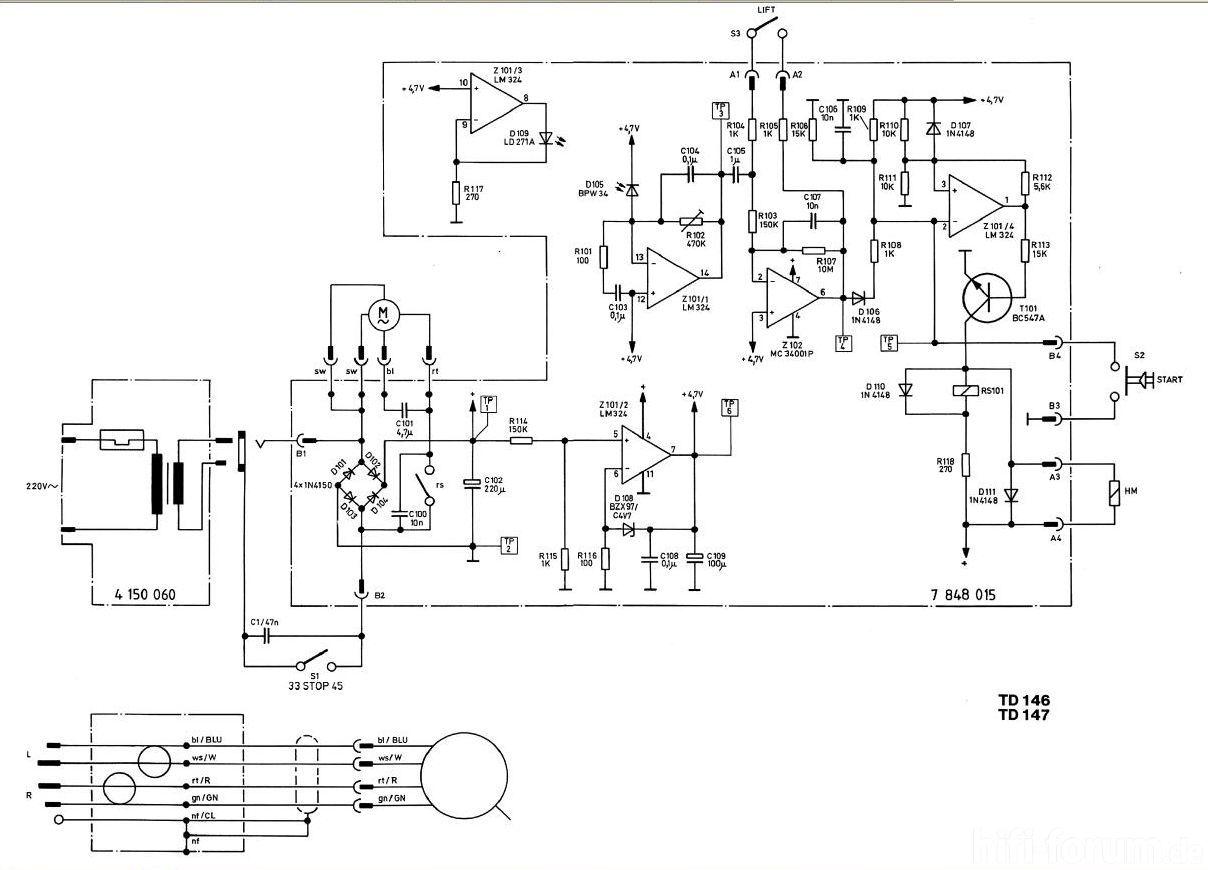 Td147 Schaltplan