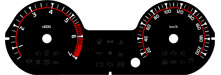 Tachoscheibe  Dacia Duster / Logan / Sandero