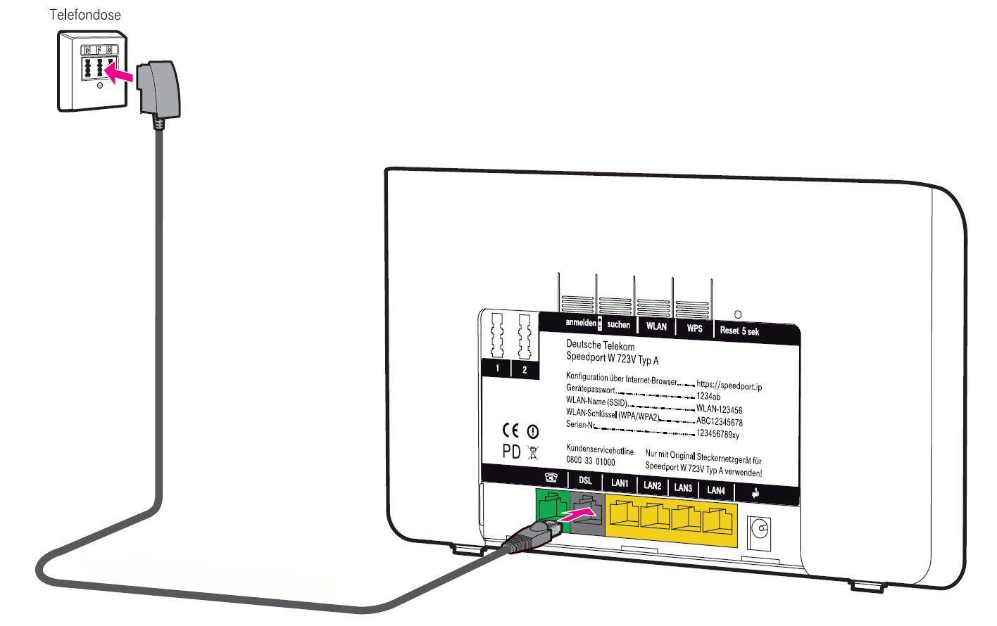 Tp Link Tl Wr841n N300 Wlan Router Fur Anschluss An Kabel