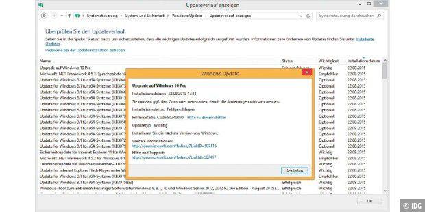Upgrade Pannen Bei Windows 10 So Beheben Sie Fehler Pc Welt