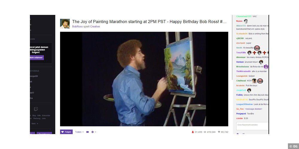 Bob Ross Malerei Berg Versteck Malerei Video Youtube Bob