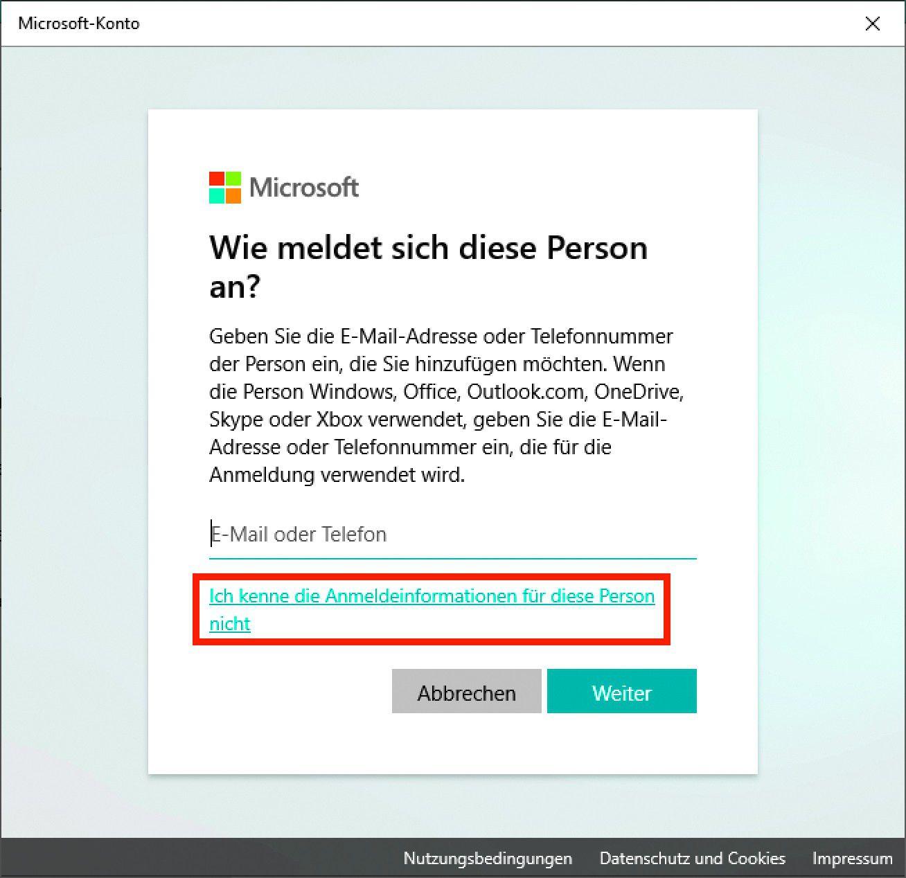 Benutzer Ohne Microsoft Konto Anlegen Pc Welt
