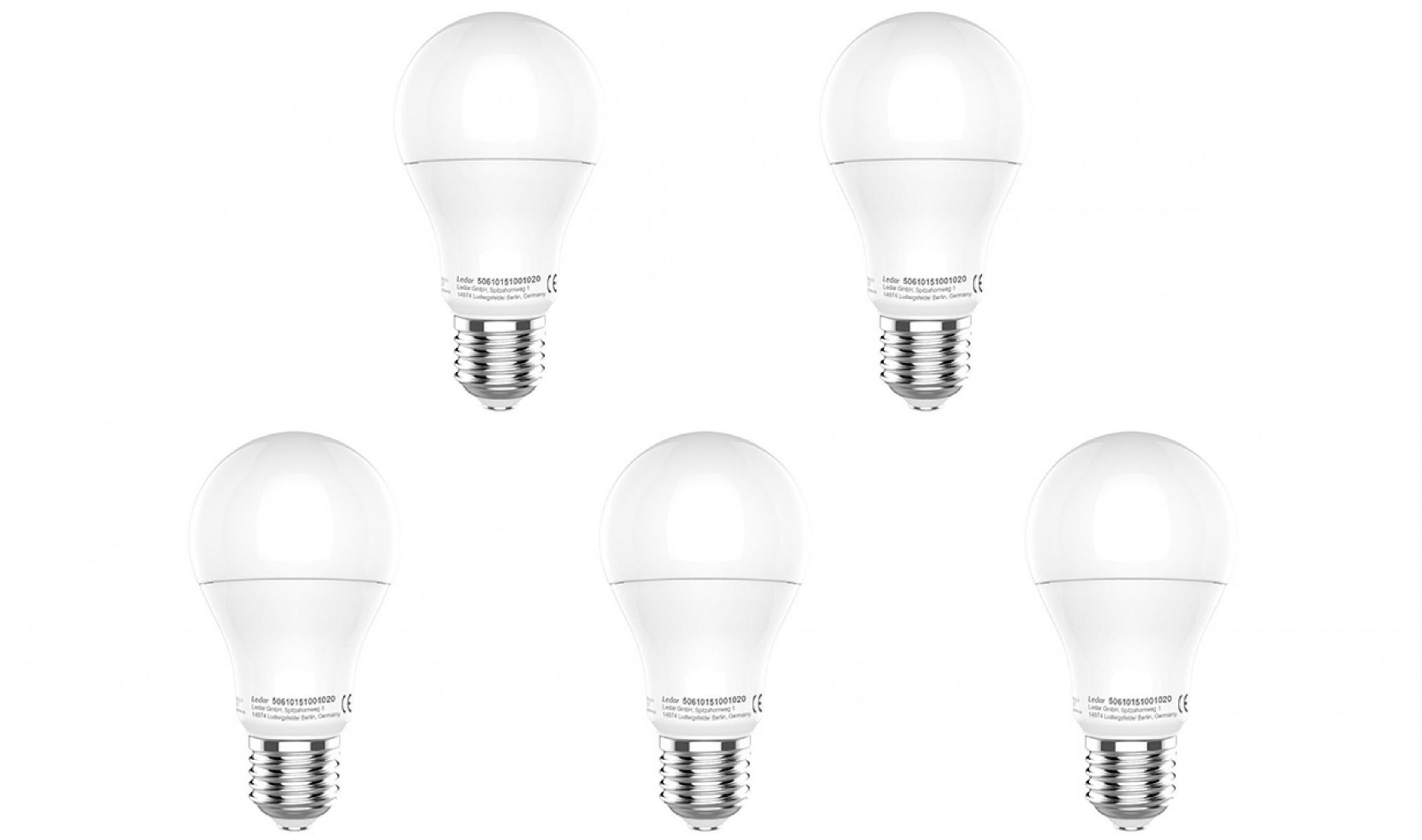 Led Leuchtmittel Set 5x E27 Ledino Gluhbirne 9 Watt Lampe