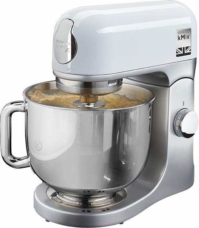 kenwood kuchenmaschine kmix kmx 750wh inkl 3 tlg patisserie set und 5l schussel