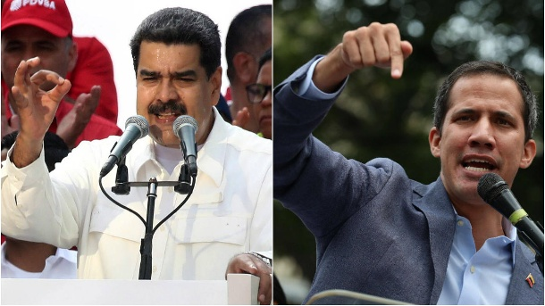 Power struggle in Venezuela: head of state Nicolàs Maduro (left) and opposition leader Juan Guaidó. (Source: image / t-online image)