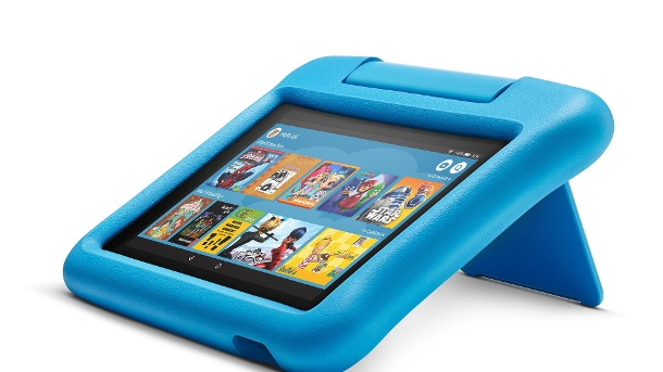 Amazon Tablet Fire 7 Kids Edition: It is in a stable frame. (Source: Manufacturer / Amazon)