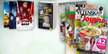 Tidningskungen Presentkort Image