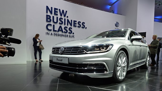 In 2015, the Passat was still celebrated as a new business class.