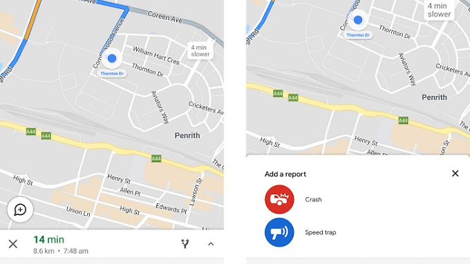 Google Maps users may soon be able to report speed cameras directly to the app.