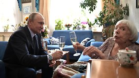 Putin congratulated Alexeyeva on his 90th birthday.