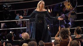 Meryl Streep bekam Standing Ovations.