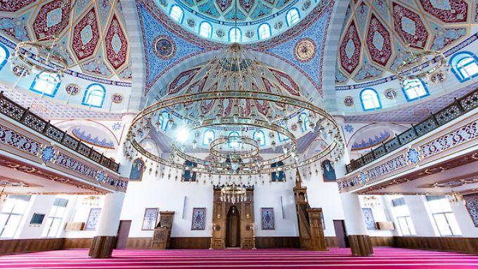 Die Ditib-Merkez-Moschee in Duisburg.