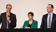 Showdown in Hamburg: Wen wünschen Sie als CDU-Parteichef?