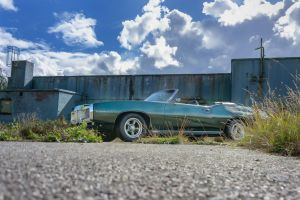 Pontiac an der alten Halle Bild 3