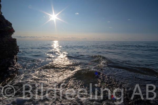 Motljus vid havet