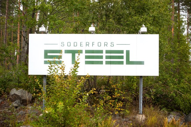 Söderfors Steel AB, Söderfors.