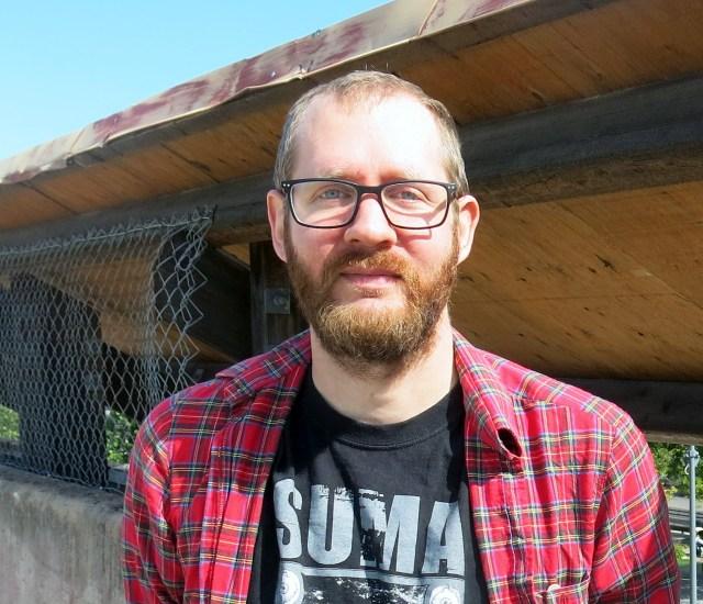 Mika Wiborgh, också antologiförfattare från Sandviken.