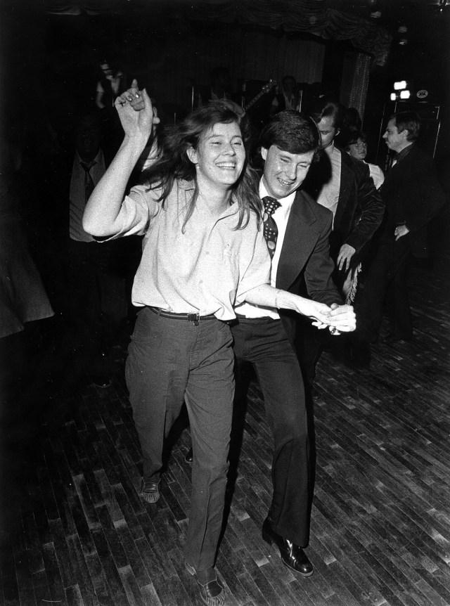 14 mars 1981: Dansgolvet på CH. Bild: Kurt Elfström.