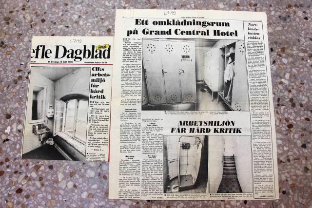 18 juli 1986: Arbetsmiljön på CH får hård kritik.