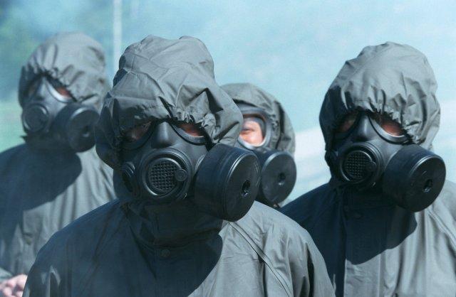 Ett tema i panikrummet blir militärer. Bilden är tagen i ett annan sammanhang. Foto: Roger Vikström/Scanpix.