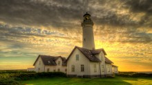 Hirtshals lighthouse