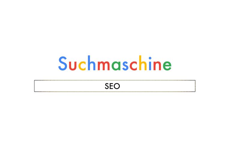 Grafik mit einer Nachbildung einer Suchmaschinenseite für einen Blogpost auf bildpunktfabrik.de