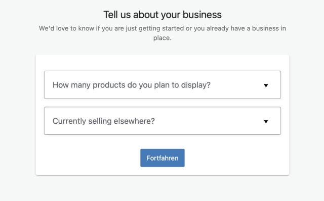 Weitere Angabe zum Geschäft WooCommerce Plugin WordPress