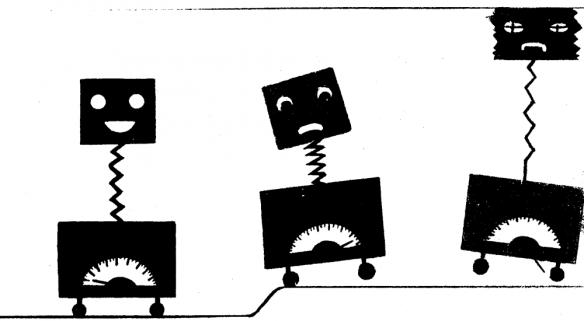 Omslagsbild till examensarbete vid KTH utfört av Lennart Strandberg 1969 vid Flygmedicinska Institutionen